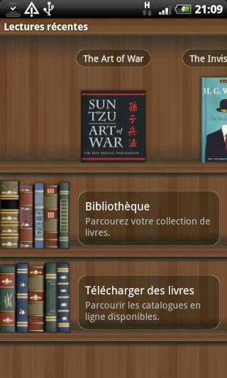 [SOFT] ALDIKO : Lecteur eBooks sous Android [Gratuit] Device22