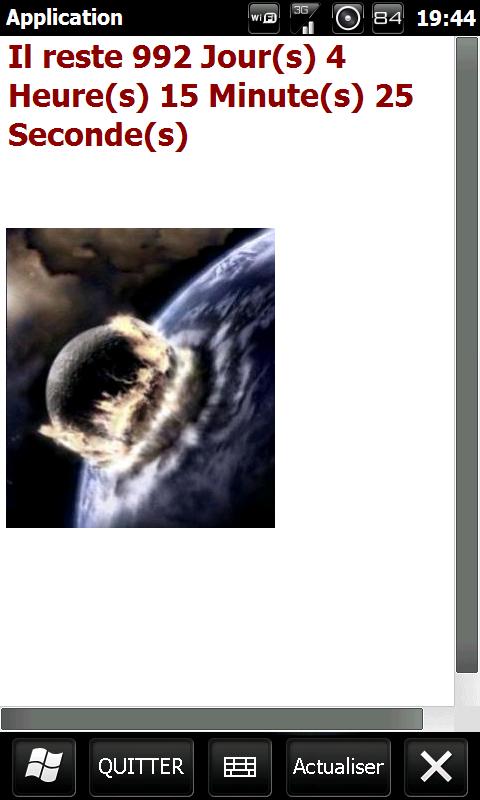 [SOFT] TIME OF DEATH : Calculer le temps restant avant la fin du monde 2012 [Gratuit] Screen15