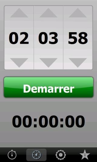 [SOFT] MYSTOPWATCH : Chronomètre et compte à rebours [Gratuit] Screen33
