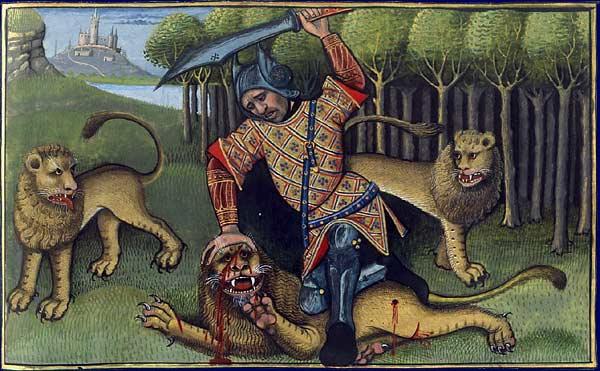 Le lion Lion1410