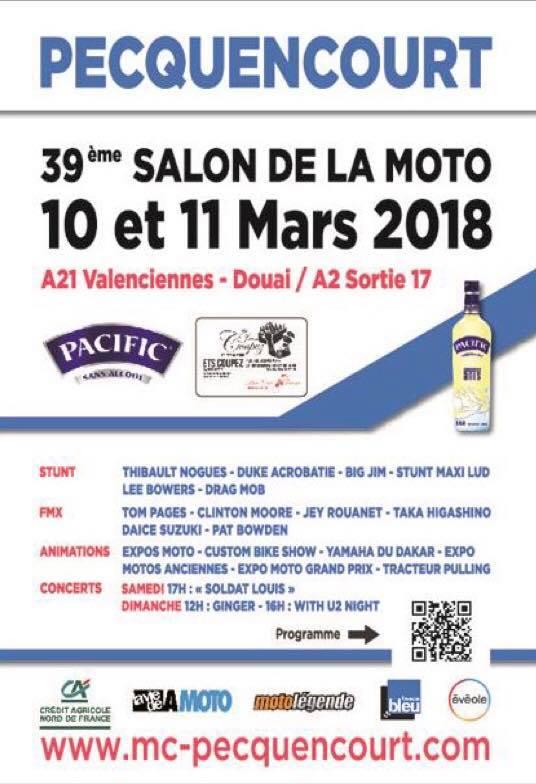 salon moto de Pecquencourt (59) 10 et 11 Mars  65015110