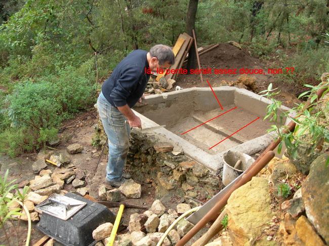 notre bassin pour tortues... Projet11