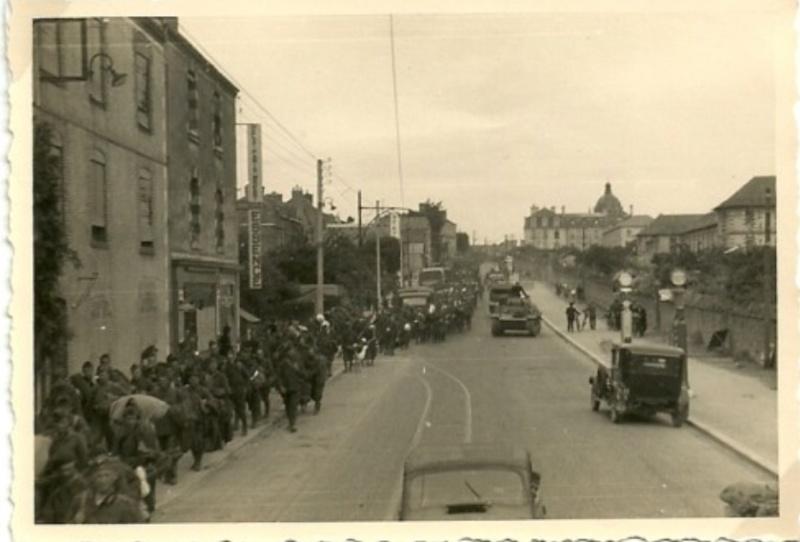 Arrivée des allemands à Brest Panzer10