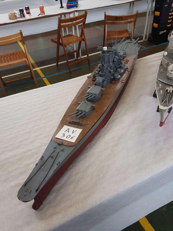 Cuirassé Yamato - 大和 - Nichimo 1/200 + Motorisation... 20180513