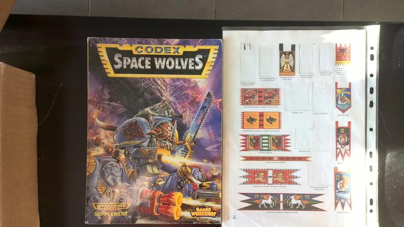 vente lot space wolves wh40k VINTAGE!  Wp_20116