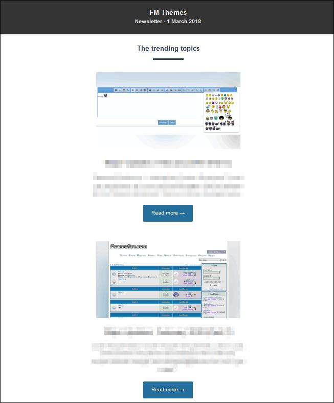 """Newsletter """"Popular content"""" News010"""