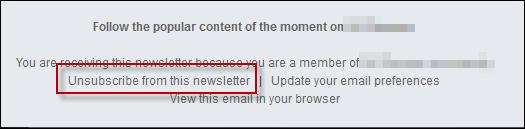 """Newsletter """"Popular content"""" News410"""