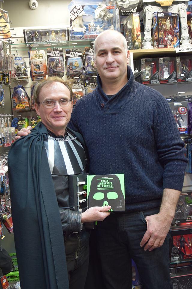 Rencontre avec Daniel Naprous (Darth Vader dans Rogue One) 27781510
