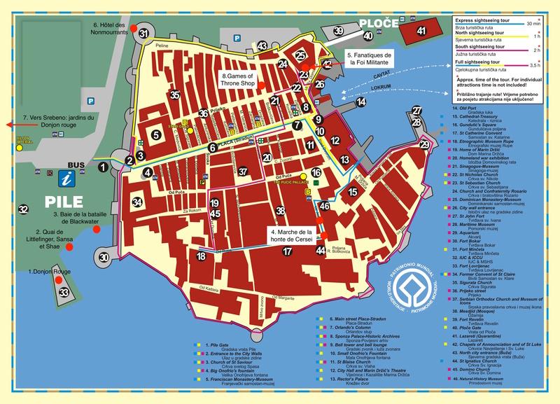 Games of Throne: une visite de Port-Réal (King's Landing) à Dubrovnik Old-ci10