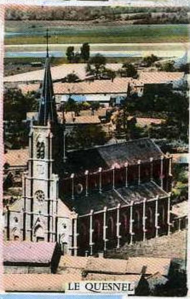 L'EGLISE de Le Quesnel : église Saint léger. A10