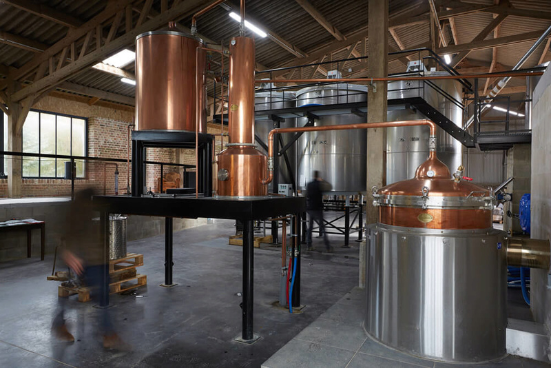 DISTILLERIE à BEAUCOURT en SANTERRE : Gin et whisky Alambi10