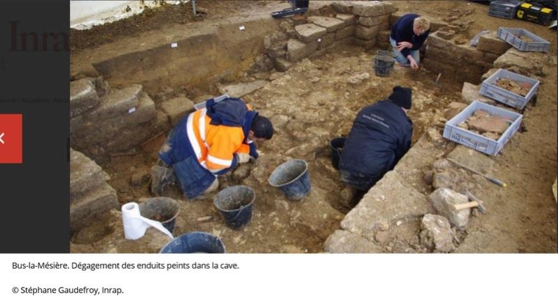 Les fouilles archéologiques sur le tracé du projet de gazoduc de GRTgaz en Picardie Arche210