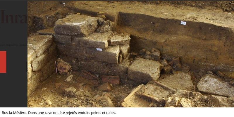 Les fouilles archéologiques sur le tracé du projet de gazoduc de GRTgaz en Picardie Arche310