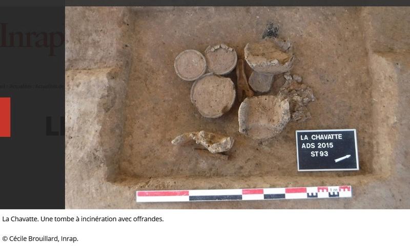 Les fouilles archéologiques sur le tracé du projet de gazoduc de GRTgaz en Picardie Arche811