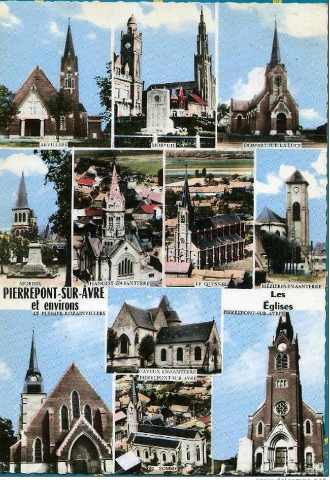 cartes postales originales de LE QUESNEL B10
