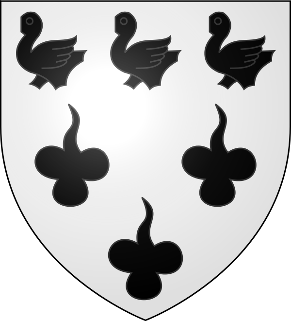 LES ARMOIRIES, BLASONS de LE QUESNEL Blason11