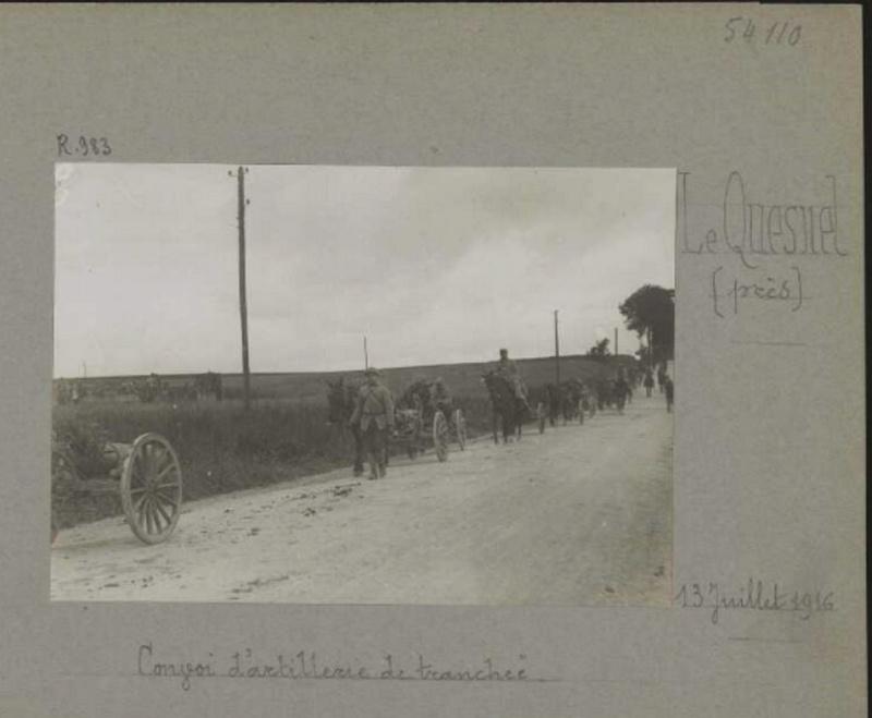 photos de LE QUESNEL pendant la guerre Convoi10