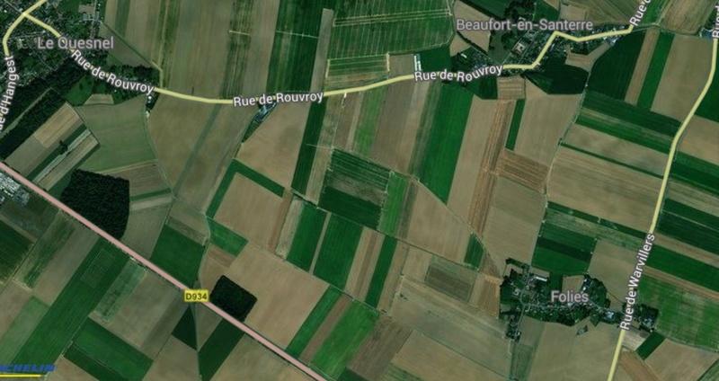 CARTE ACHEOLOGIQUE de FOLIES (7 km de LE QUESNEL) Folies10