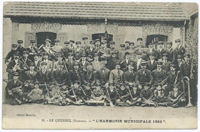 l'harmonie municipale en 1923 Harmon10