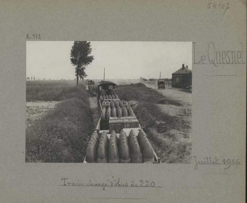 photos de LE QUESNEL pendant la guerre Train_10