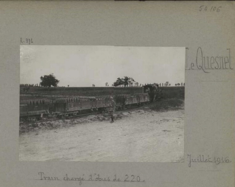 photos de LE QUESNEL pendant la guerre Train_11
