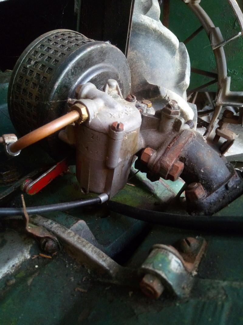 labor - Vieux motoculteur Labor type U 01611