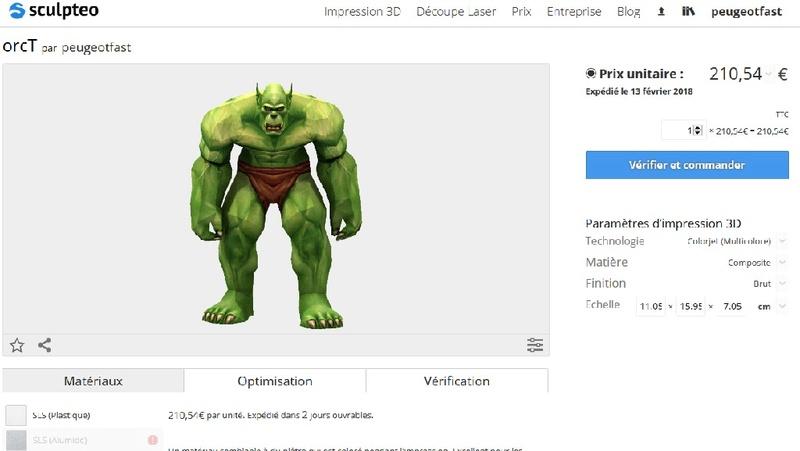 3D printing - Page 3 Prix310