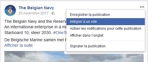 Intégrer un message de facebook sur le forum 001_1821