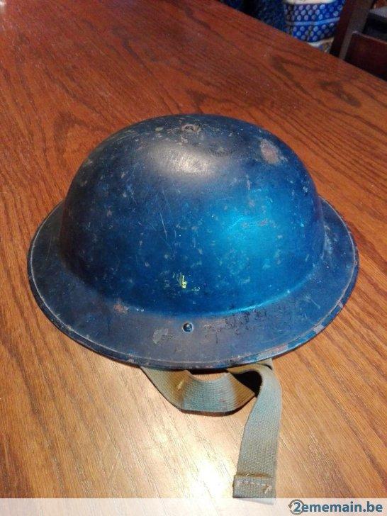 Casque complet de la marine Belge (années 50) 39734810