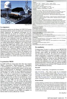 Modernisation et maintenance des CMT Bg210