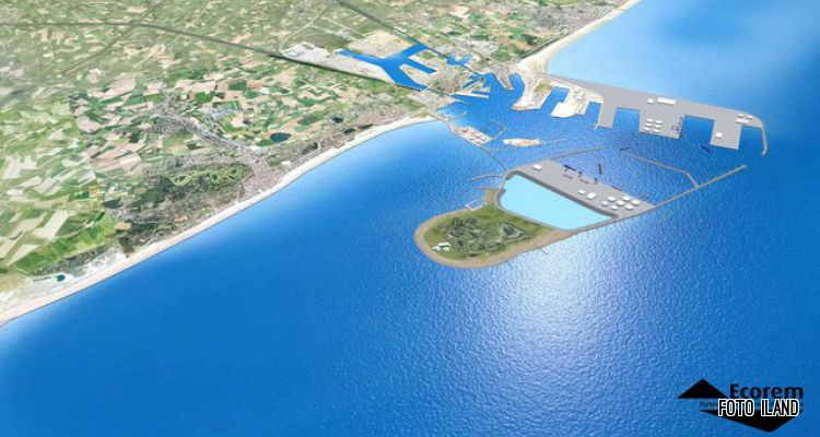 Une expansion du port de Zeebruges dans la mer !? Energi10