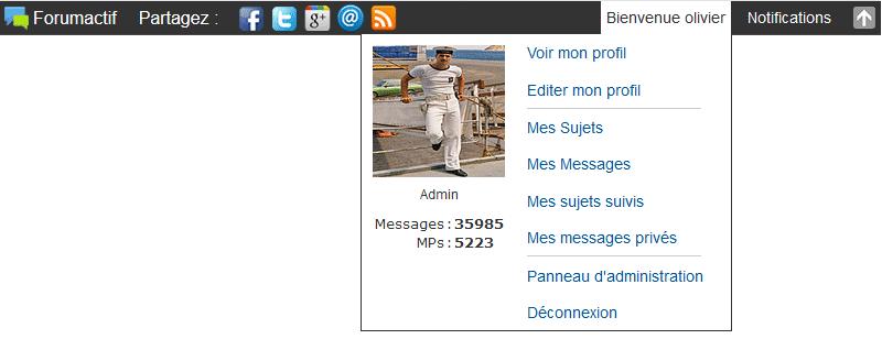 Une Toolbar fixée tout en haut du forum Mmppuu15