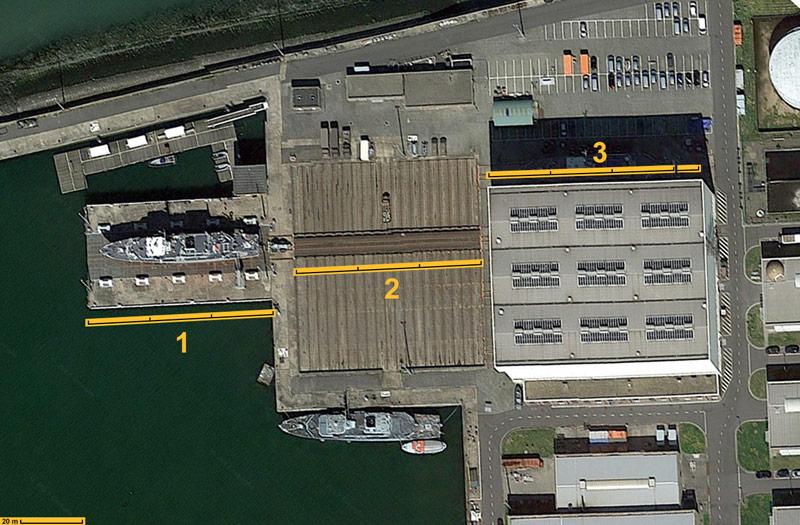 Réaménagement de la base navale de Zeebrugge Mpppp426