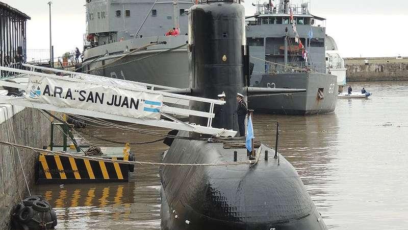 Recherche du sous-marin argentin disparu: les news (1) Submar10