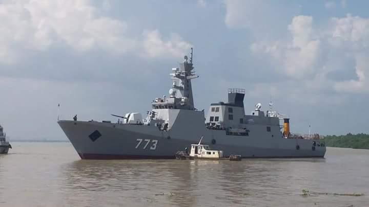 Marine Birmane - Myanmar Navy Ums_ta10