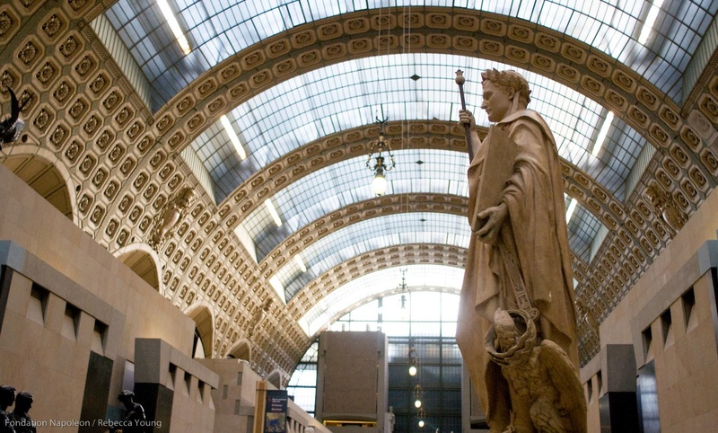 Dépôt de la Fondation Napoléon au Musée d'Orsay 00-26810