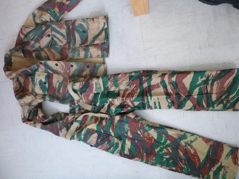 Tenue taillée dans de la toile de tente camouflée M51 ? P1010210