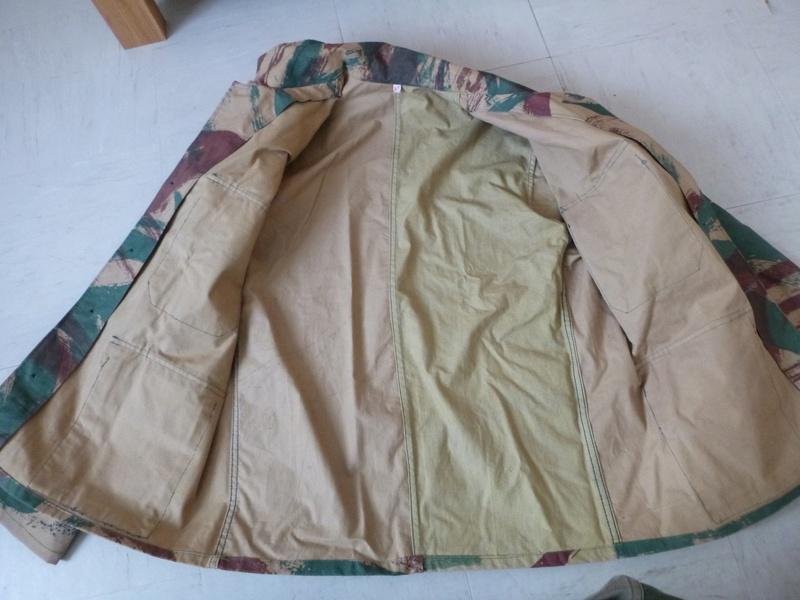 Tenue taillée dans de la toile de tente camouflée M51 ? P1010215