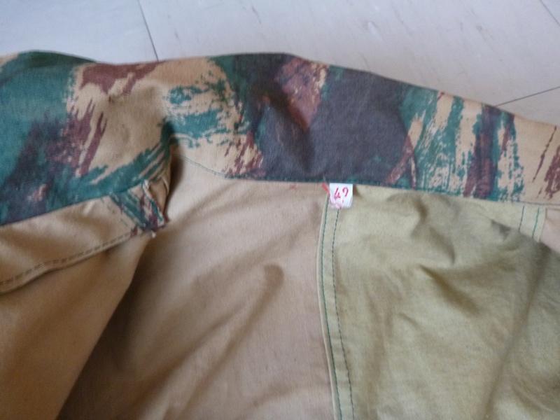 Tenue taillée dans de la toile de tente camouflée M51 ? P1010216
