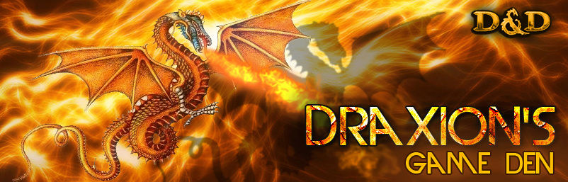 Draxion's Game Den