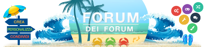 Forum dei Forum: Aiuto per Forumattivo