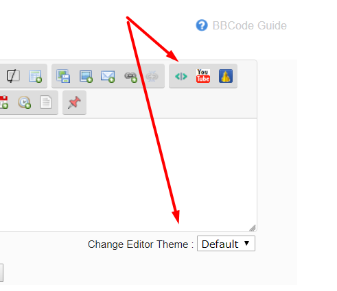 SCEditor Auto-Embed Button Scree435