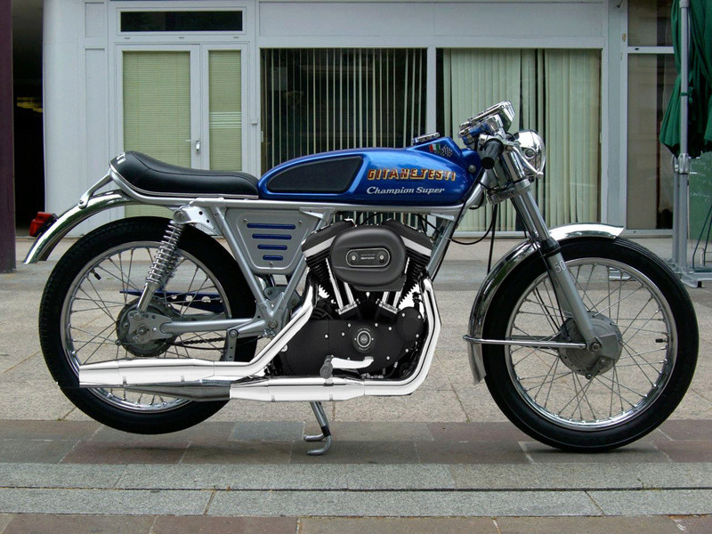 Mes autres !!! (Honda CB350, Harley 883) - Page 2 32619210