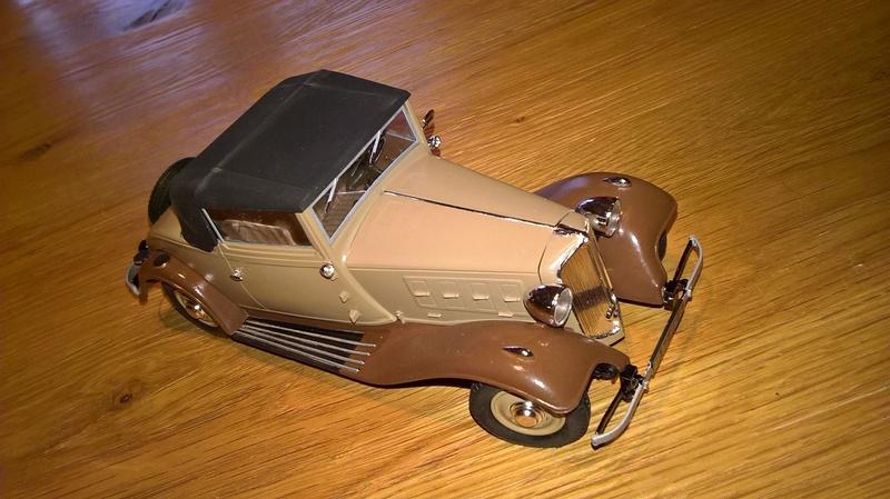 Renault Vivastella cabriolet 1932 1/24e 26951810