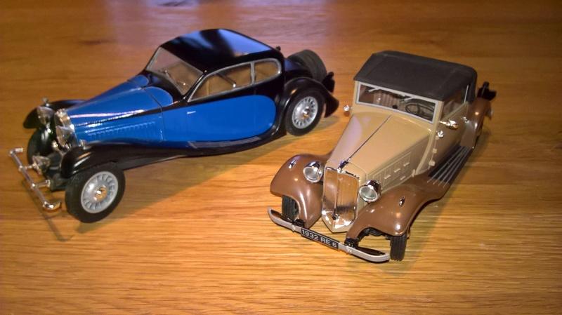Renault Vivastella cabriolet 1932 1/24e 26951910