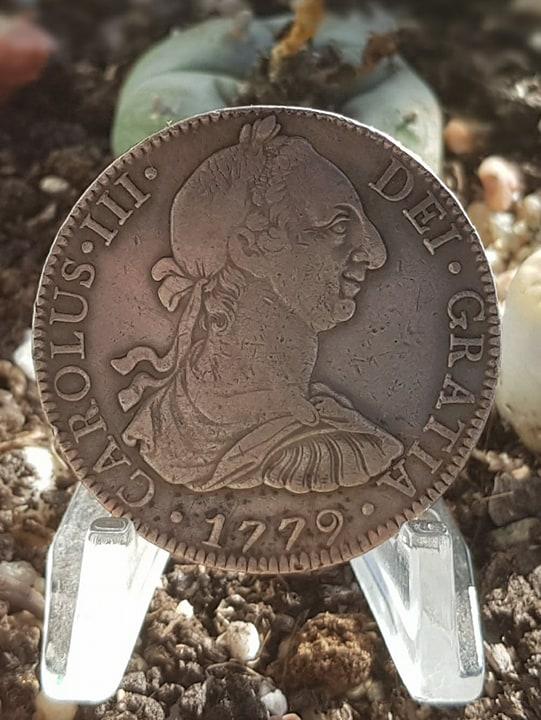 8 Reales. Carlos III. 1779. México 156_111