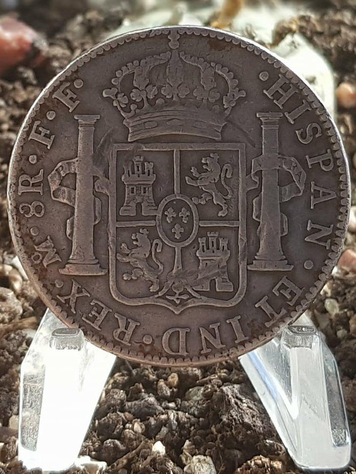 8 Reales. Carlos III. 1779. México 156_211