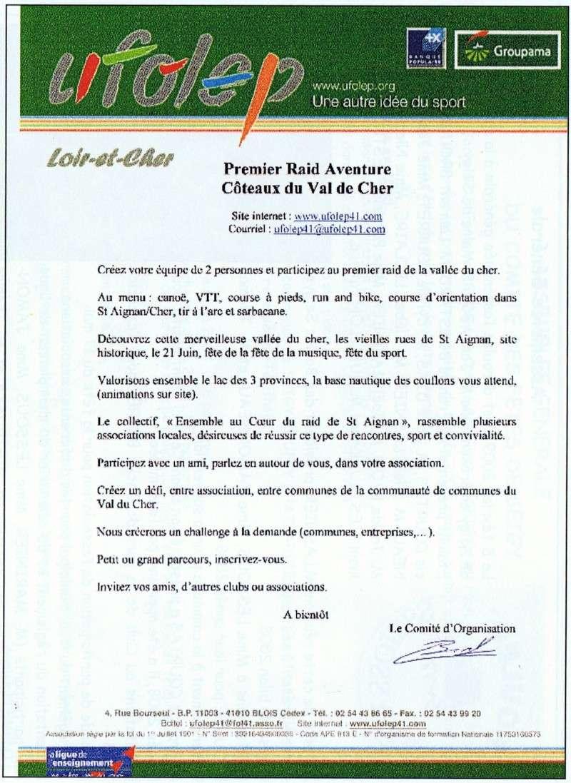 Premier Raid Aventure - Coteaux du Val de Cher - Dimanche 21 Juin 2009 Raid_a10