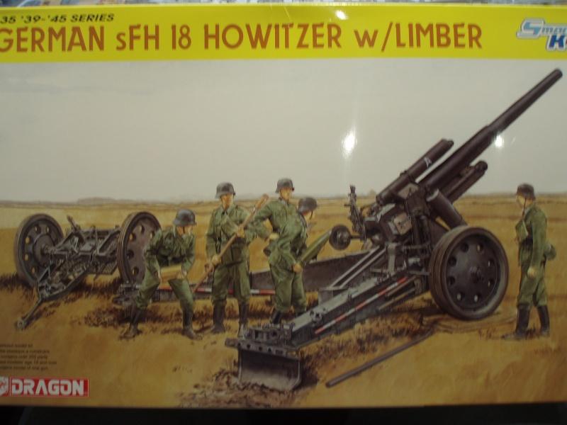 Dragon Sfh 18 howitzer w/Limber TERMINÉ P1170010