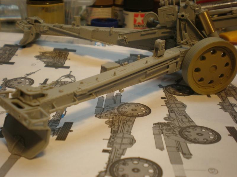 Dragon Sfh 18 howitzer w/Limber TERMINÉ P1210412